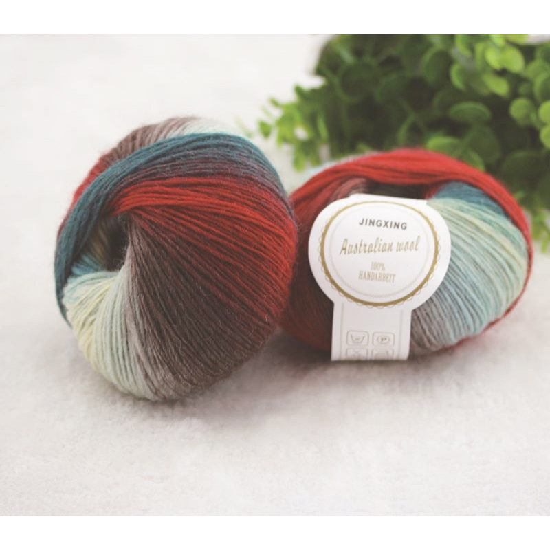 500g 10 Ball 100% Australia Wool Knitting Cashmere High Quality - Arts, Crafts and Sewing - Photo 4