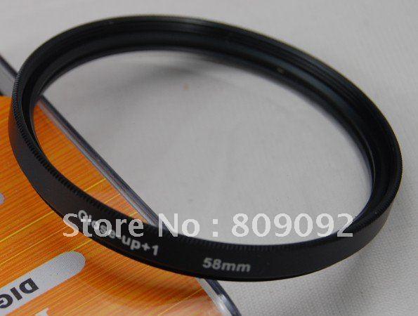 GODOX 58 мм Макро крупным планом+ 1 фильтр объектива для цифровой камеры