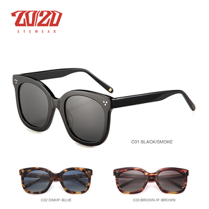 Image 3 - 20/20 Brand Fashion Gepolariseerde Zonnebril Vrouwen Mannen Acetaat Klassieke Zonnebril Rijden Unisex Eyewear Oculos AT8048