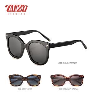 Image 3 - 20/20 Brand Fashion Polarized Sunglasses Women Men Acetate Classic Sun Glasses Driving Unisex Eyewear Oculos AT8048