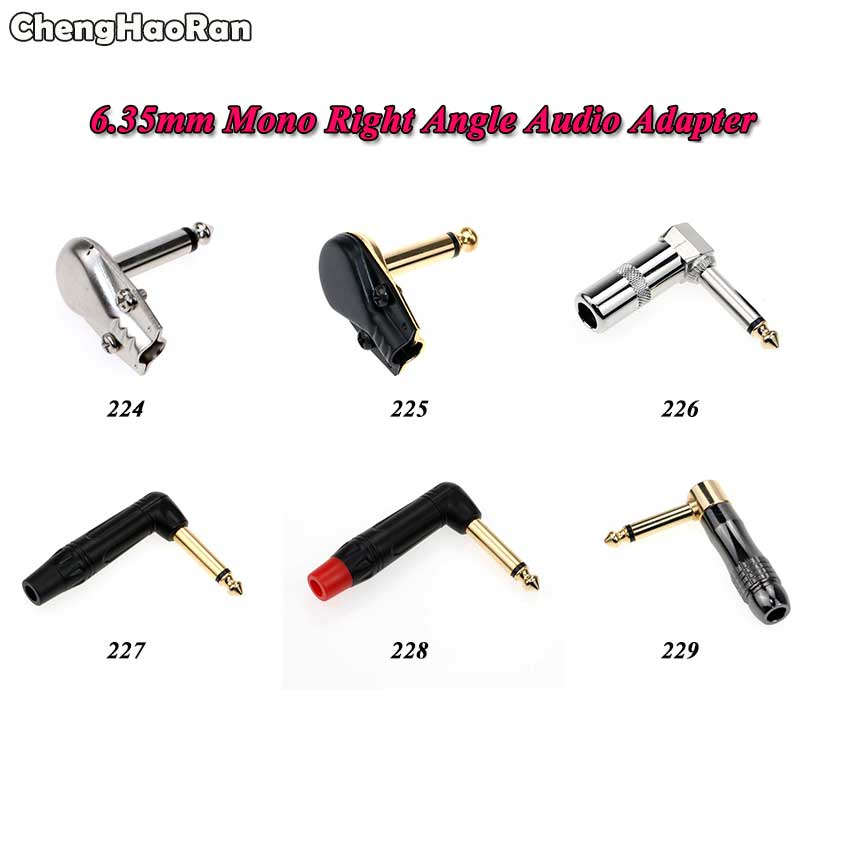 Right Angle 2.5mm Stereo to 1//4 Stereo Adapter