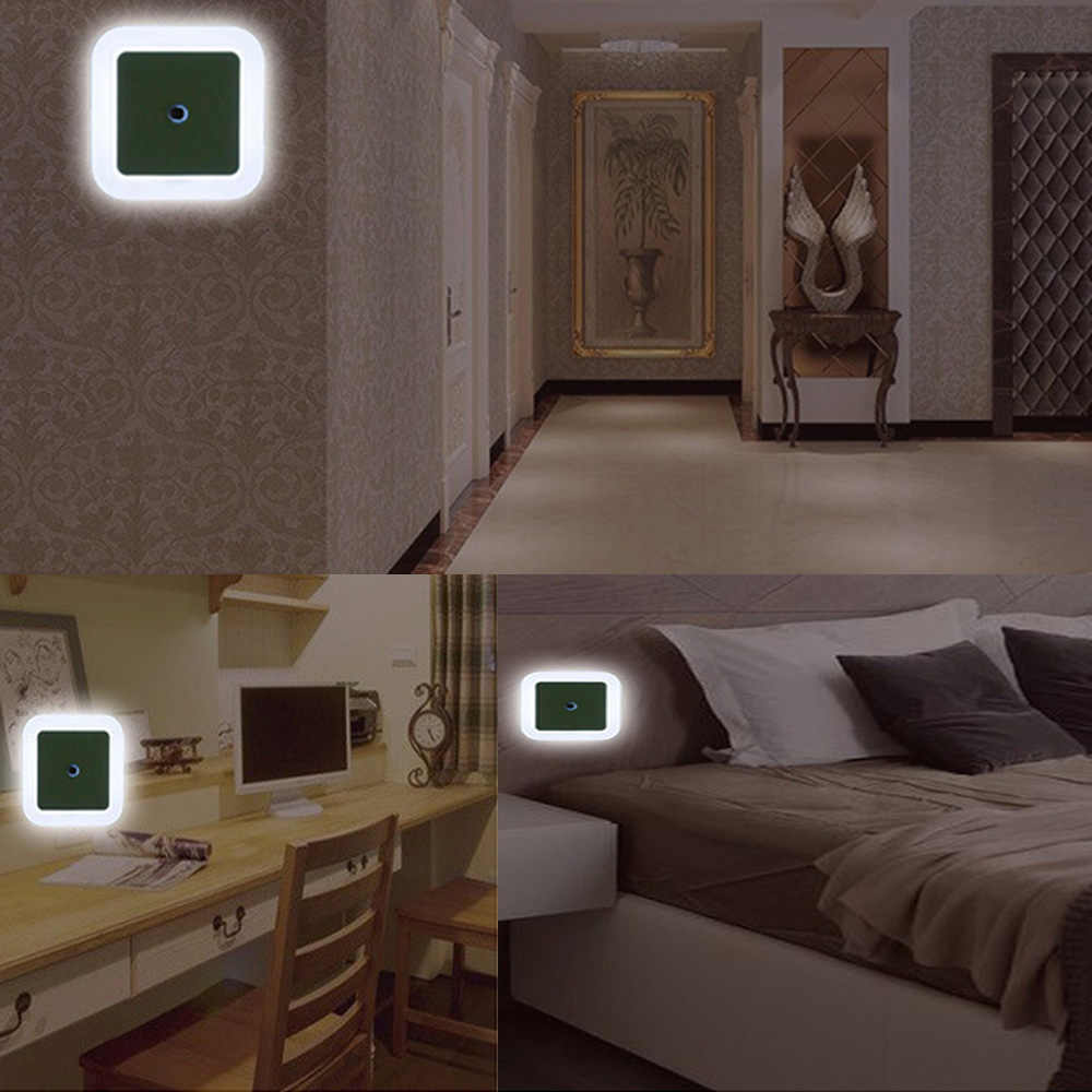 Светодио дный 0,5 Вт светодиодный ночник спальня Детские огни дети рядом настенный светильник Романтический для детей с движения Авто сенсор дома огни EU/US