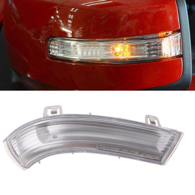 1pc Right Wing Mirror Indicator Turn Signal Light For Vw Golf Gti