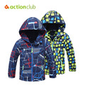 Actionclub Children Winter Jackets Boys Girls Outerwear Kids Casual Windproof Warm Coat Sport Autumn Clothes Children Clothing