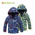 Actionclub Crianças Casacos de Inverno Meninos Meninas Outerwear Crianças Casuais Esporte Casaco à prova de Vento Quente de Outono Roupas Roupas Para Crianças