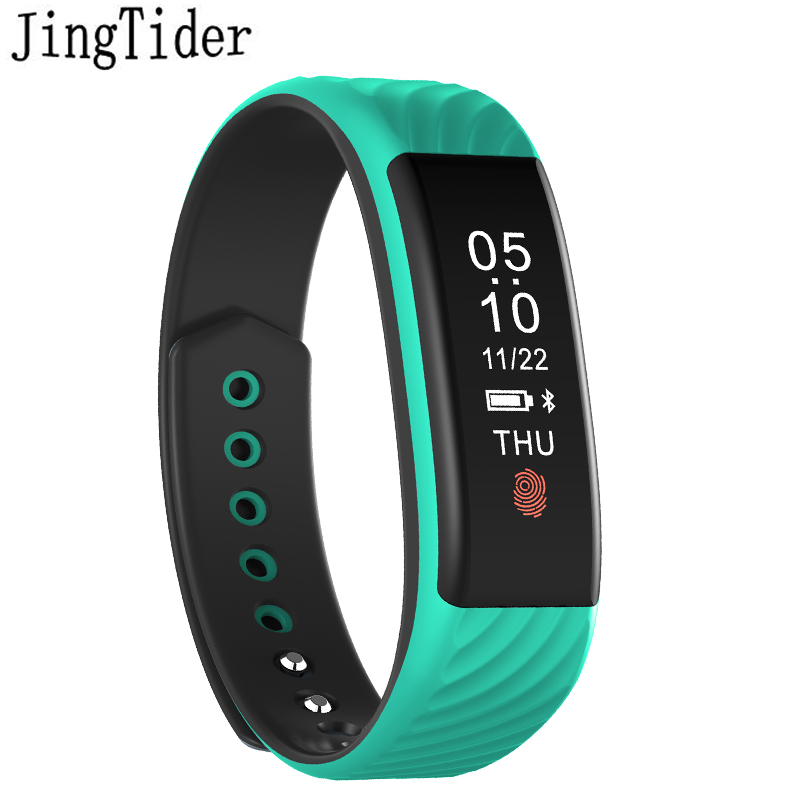 JingTider W810 nutikas käevõru südame löögisageduse monitor Smart Band käepael Fitness aktiivsus Tracker Veekindel IP67 IOS Android