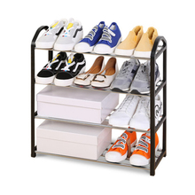Simple combined shoe rack steel shoe stand assembly shoe storage organizer Stand living room furniture цены онлайн