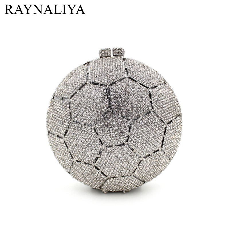 Women Circular Evening Bags Ladies Wedding Party Clutch Bag Luxury Handbags Casual Crystal Diamonds Purses Smyzh-e0135 women luxury rhinestone clutch beading evening bags ladies crystal wedding purses party bag diamonds minaudiere smyzh e0193 page 8