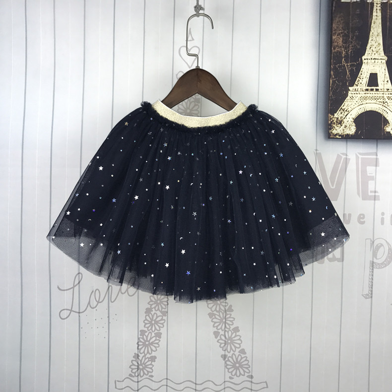 Girls Skirt Tutu Five Stars Tulle Skirt for Dancing Party Pettiskirt Elastic Skirt Baby Ball Gown Toddler KawaiiChildren 39 s Skirt in Skirts from Mother amp Kids