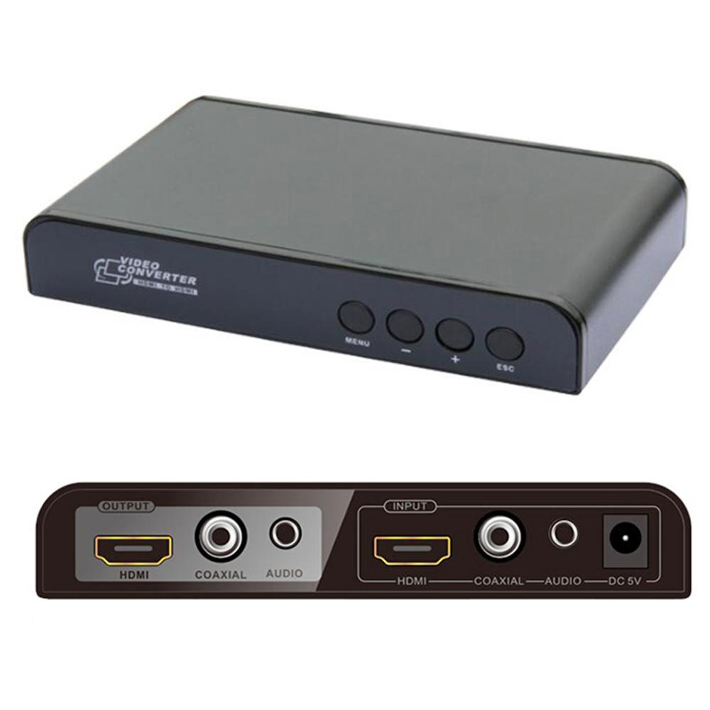 LKV323 HDMI to HDMI Converter,Mirror UP//Down Scaler,HDMI Audio Separation//Mixtur