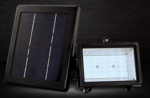 solar lighting system with  3W solar panel + 36 Led +5M cable for house,wall decoration lighting system