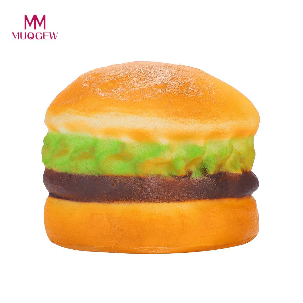 Squishy Stress Reliever Scented Super Slow Rising Kids Toy Squeeze Toys Mini Hamburger Poopsie Slime Surprise Decompression Toys