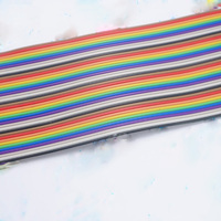 40 P Color Ribbon Cable Can Pressure 2 54 FC Chief 1 M 7 Tin Plating