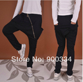 Men pants Women's han edition of the new hip hop dance across the pants haroun pants zipper fashion casual pants