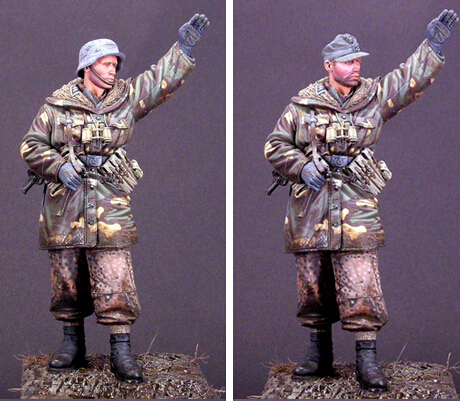 resin assembly Kits 1 16 WSS Grenadier Wiking soldier 90mm Unpainted Kit Resin Model Free Shipping