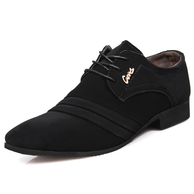 new Men Formal Wedding Shoes Luxury Men Business Dress Shoes Men Loafers Pointy Shoes Big Size Leather Shoes Zapatos de hombrenew Men Formal Wedding Shoes Luxury Men Business Dress Shoes Men Loafers Pointy Shoes Big Size Leather Shoes Zapatos de hombre