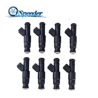 ESPEEDER 8pcs 650cc High Impedance Turbo Fuel Injector High flow Nozzle Fuel Injector 1 Hole Engine Parts Injection