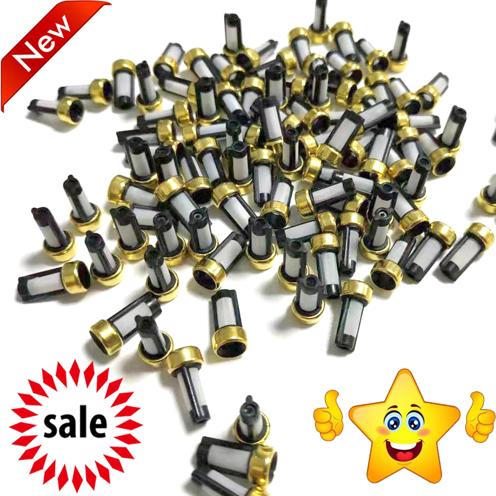 Free Shipping Size 6*3*12 Mm Universal Fuel Injector Micro Basket Filter Ring For ASNU03C Bosch Injector Repair Kits
