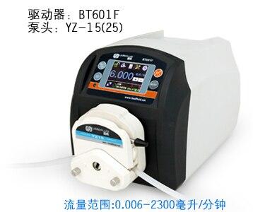 BT601F YT15 лаборатории высокой большой поток точное дозирование умный Перистальтический дозирования насос вода жидкость промышленность Pump0.