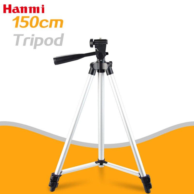 Hanmi Leve Flexível Universal Portátil Mini Tripé de Câmera Profissional de Pesca Tripé Para Canon Nikon Sony Câmera Compacta