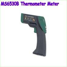1 шт. MASTECH MS6530B 12:1 (D: S) Цифровой бесконтактный Инфракрасный Термометр ИК Измеритель Температуры с лазерным Целеуказателем и Подсветкой