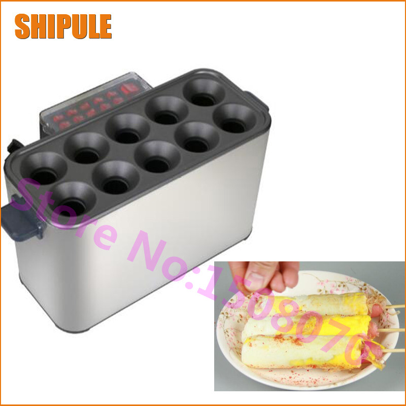 Hot SHIPULE 2018 new products commercial egg intestinal machine , electric egg hot dog maker waffle machine price