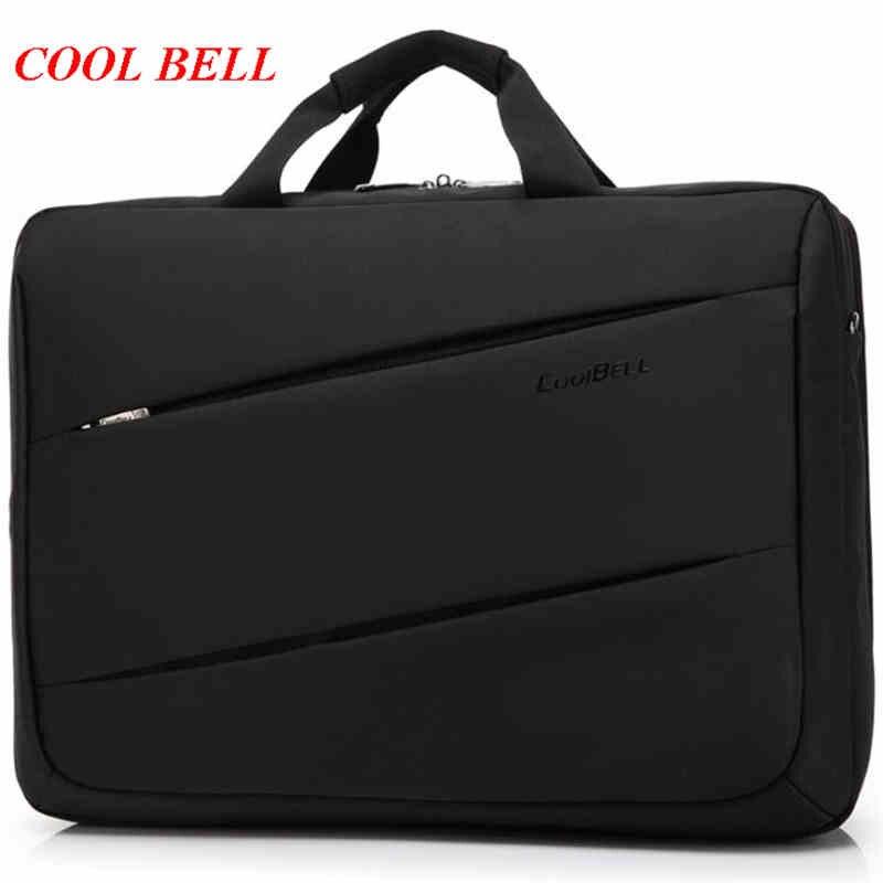 Cool Bell Shockproof Laptop Bag High Quality Designer Handbag Waterproof Oxford Mens Office Bags High-capacity Shoulder Bag M634 benro cws30 nylon camera bag waterproof shockproof shoulder bag