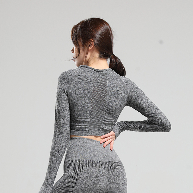 Nepoagym  Women Long Sleeve Shirts  Women Yoga Top Sports Shirt  Sports Wear for Women Gym  Womens Workout Tops