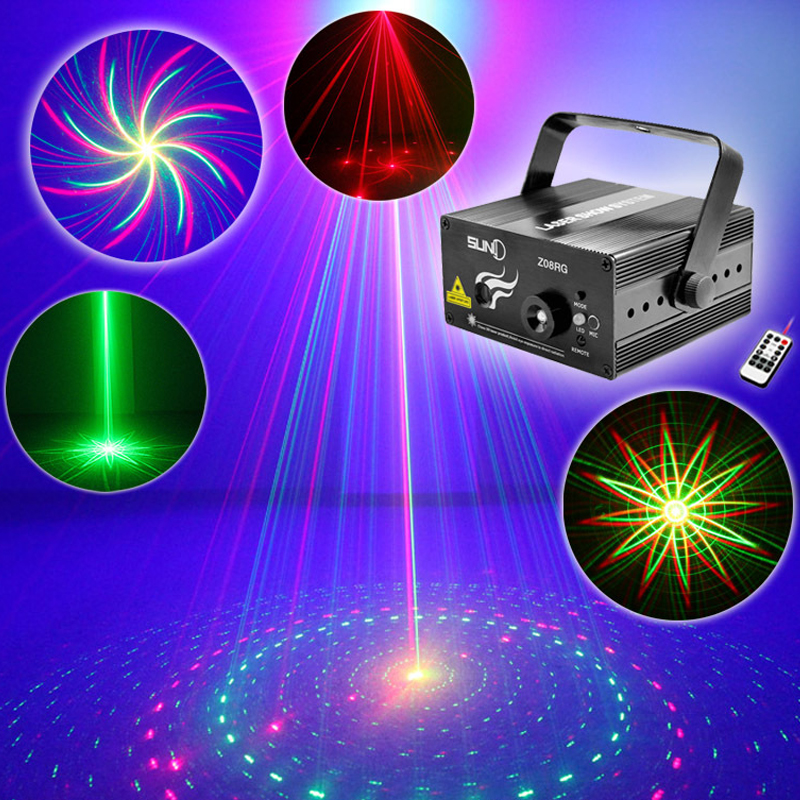 Remote/AUTO/Sound RG Stage Lighting Remote 8 Big patterns Laser Stage Lighting effect DJ Home Party show Music Christmas Light Remote/AUTO/Sound RG Stage Lighting Remote 8 Big patterns Laser Stage Lighting effect DJ Home Party show Music Christmas Light