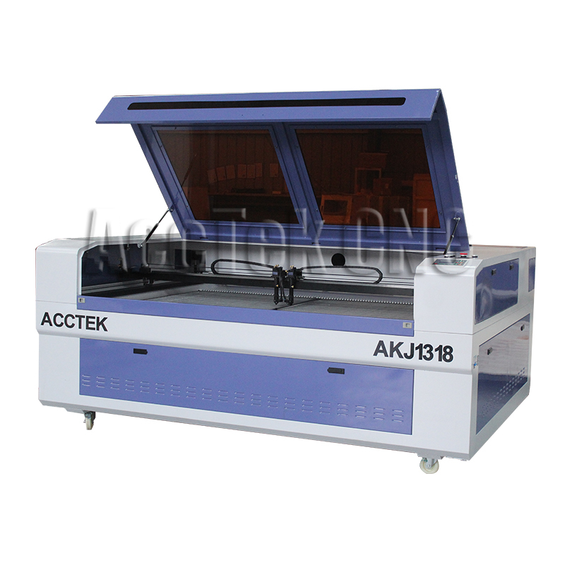 Laser cnc AccTek laser cutting plywood wood mdf acrylic paper cnc cutting machine 1318