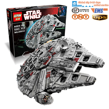 STOCK LEPIN 05033  5265 pz Star Wars Ultimate collector  Millennium Falcon Figure Kit  Blocks Bricks Toy Compatible Legoed 10179