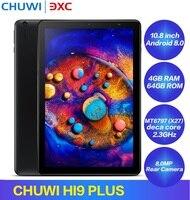 CHUWI HI9 PLUS CWI532 4G Phablet MT6797 (X27) cpu 10,8 дюймов Android 8,0 4 Гб ram 64 Гб rom Dual SIM USB 3,0 тип c планшетный ПК