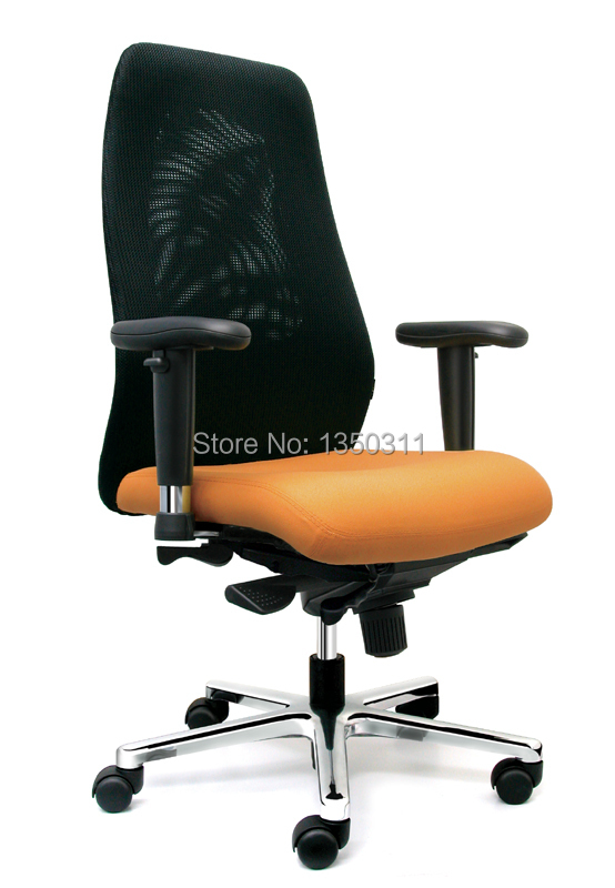 Manager office public chair. Elevating leans back rotation function, manager