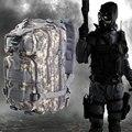 3 P Militar Tático Mochila Assalto Caça Camuflagem Homens Oxford Saco de Desporto 30L para Camping Caça Caminhadas Trekking