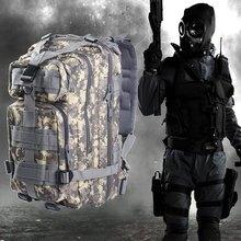3 P Militar Mochila Táctica Asalto Caza Camuflaje Bolsa de Hombre Oxford Bolsa de Deporte 30L para la Caza Que Acampa Senderismo Trekking