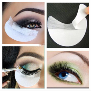 50/20pcs/Lot Multifunction Women Makeup Disposable Eyeshadow Makeup Shield Under Eyelash Pad Lash Extension Patch Make Up Tools(China)