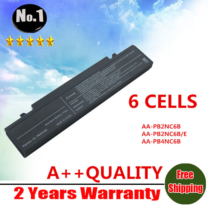 WHOLESALE new 6CELLS LAPTOP BATTERY For SAMSUNG NP-P60 R45 NP-X60 R40 P50 R70 AA-PB2NC3B AA-PB2NC6B AA-PB2NC6B/E FREE SHIPPING