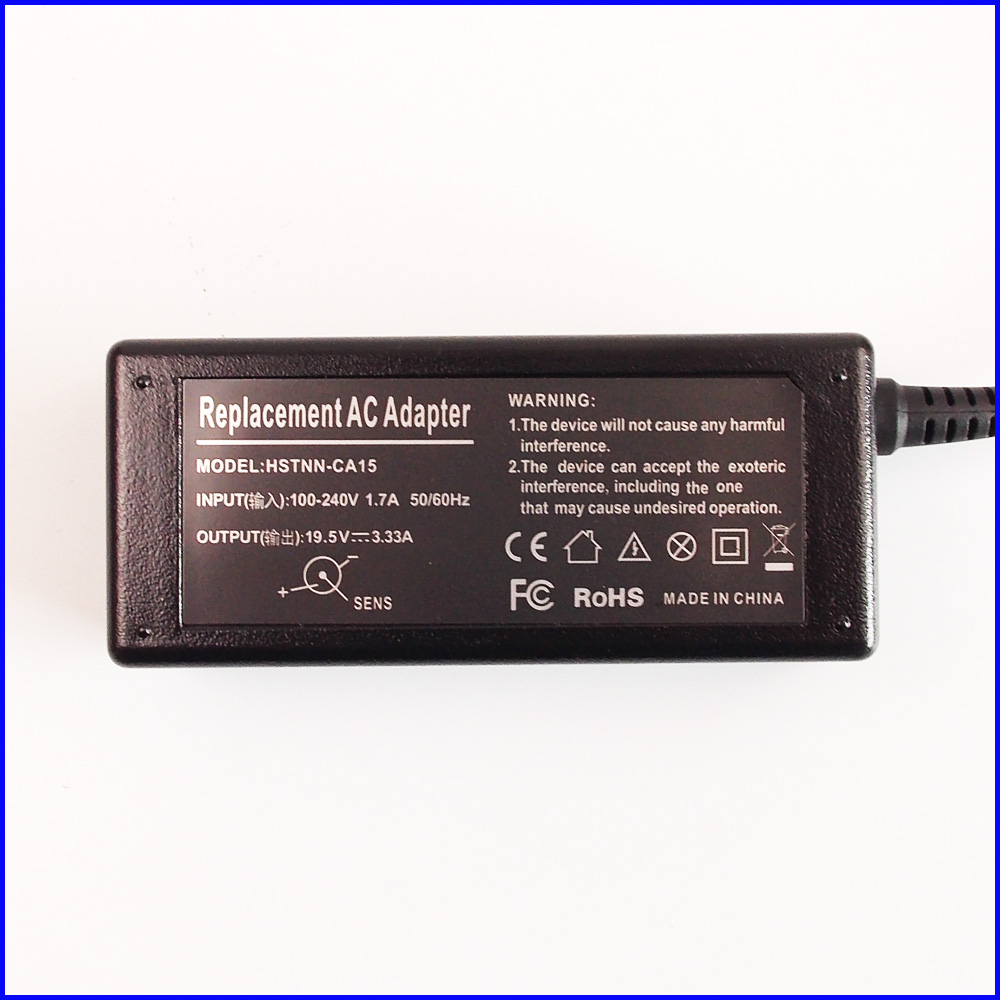 19.5V 3.33A Laptop Ac Power Adapter Charger for HP Spectre x360 13-4103dx 13-4105dx 13-4001dx 13-4002dx 13-4110dx 13-4101dx