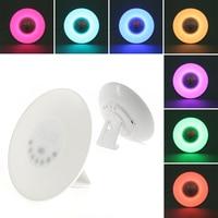 Oobest High Quality Sunrise LED Lights With Digital Alarm Clock Wake Up FM Radio Colorful Light