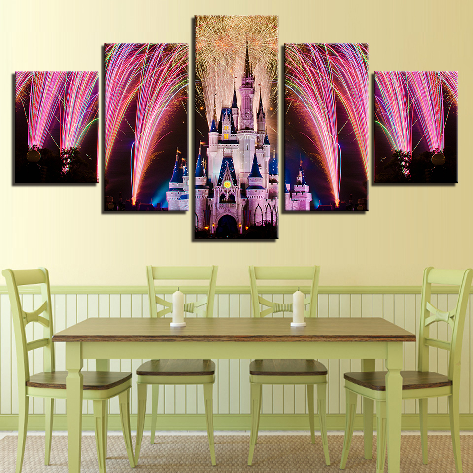 Excellent Disney Castle Wall Art Pictures Inspiration - The Wall Art ...