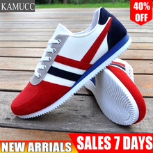 2019 New Men Casual Shoes Lac-up Men Shoes Lightweight Comfortable Breathable Walking Sneakers Tenis Feminino Zapatos(China)