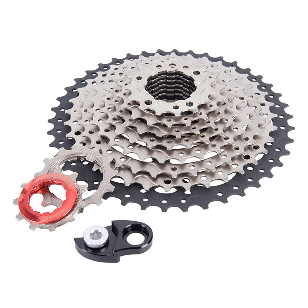 Clip On Sun 8 Speeds 8S Mountain Bicycle Freewheel Cog 12-32T MTB Bike Cassette