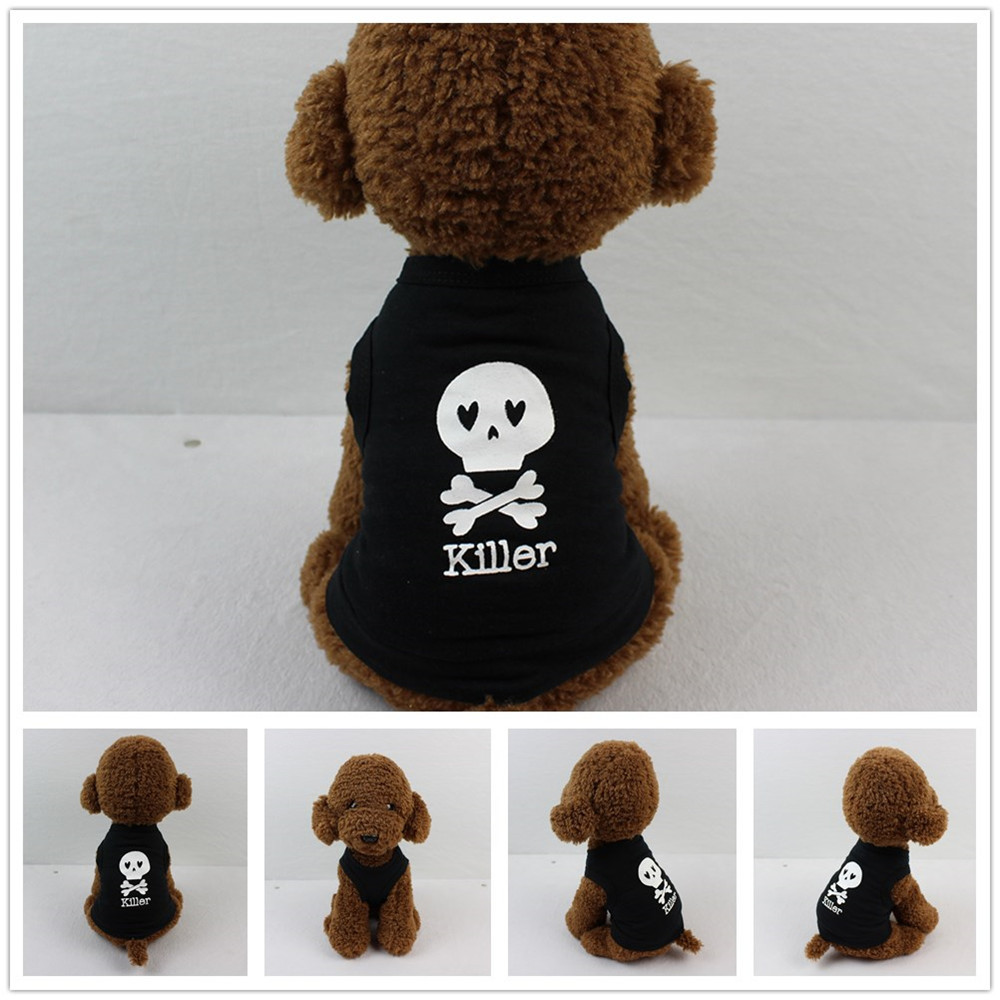 Small Dogs Costume Clothes For Little Dogs Overalls Dog Clothing Cotton T shirt Puppy Costume For Small Dog