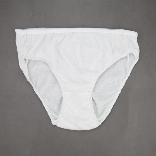 a4b54a276a7a 5Pcs/Pack Unisex White Cotton Disposable Underwear Women Men Outdoor Travel  Sterilized Panties Keep Clean Spa Underwear-in Two-Piece Separates from  Sports ...