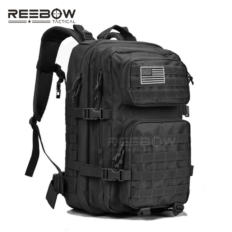Military Tactical Backpack Large Army 3 Day Assault Pack Waterproof Molle Bug Out Bag Rucksacks Outdoor Hiking Camping Hunting 40l tactical molle backpack military assault pack waterproof rucksack hiking camping travel large school lantop backpack