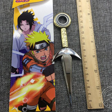 Anime Naruto cosplay 16cm kunai + 11cm shuriken ninja 5PCS/Set Gifts