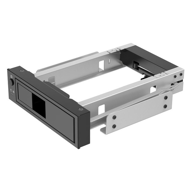 """SSK1106SS-BK CD-ROM Space solid state hard disk Mobile Rack Internal 3.5"""" sata HDD Convertor Enclosure/case 7+15pin hdd caddy"""