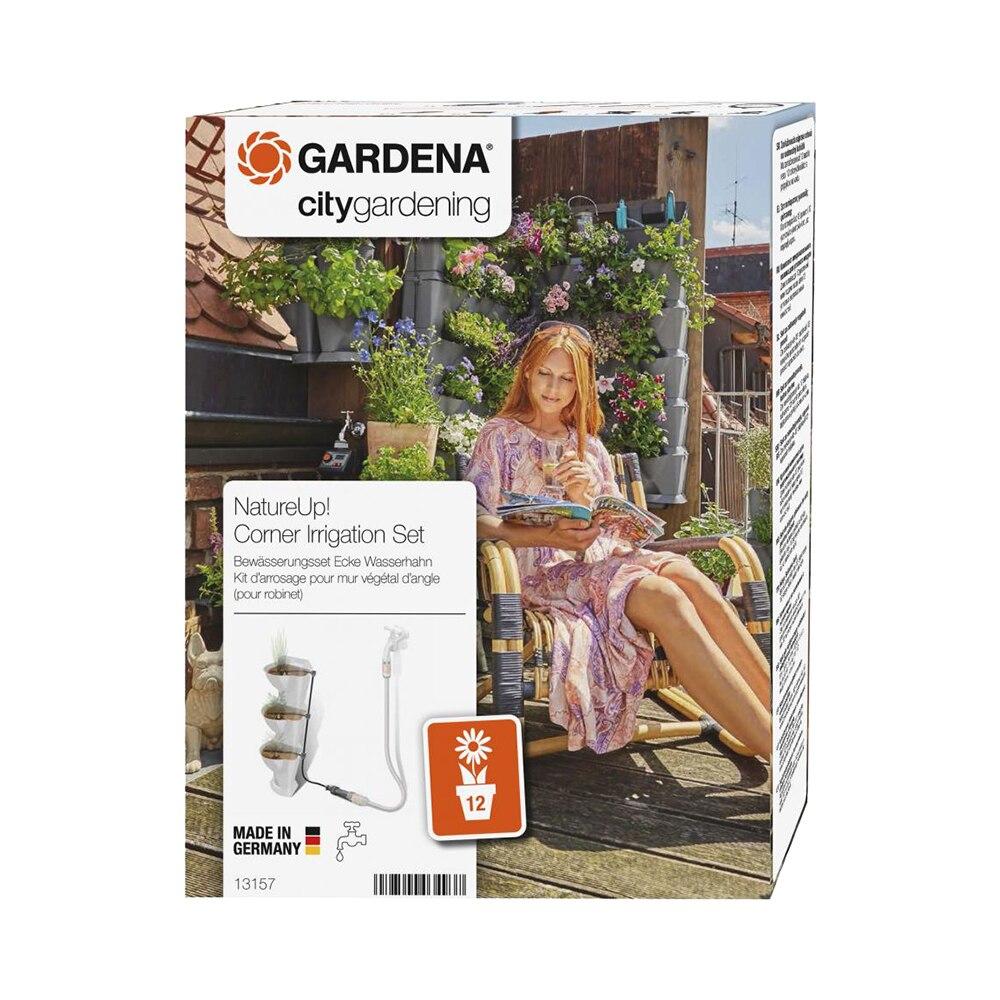 Microdrop watering set GARDENA 13157-20 Home & Garden Garden Supplies Watering & Irrigation Watering Kits mini watering cart model toy building blocks