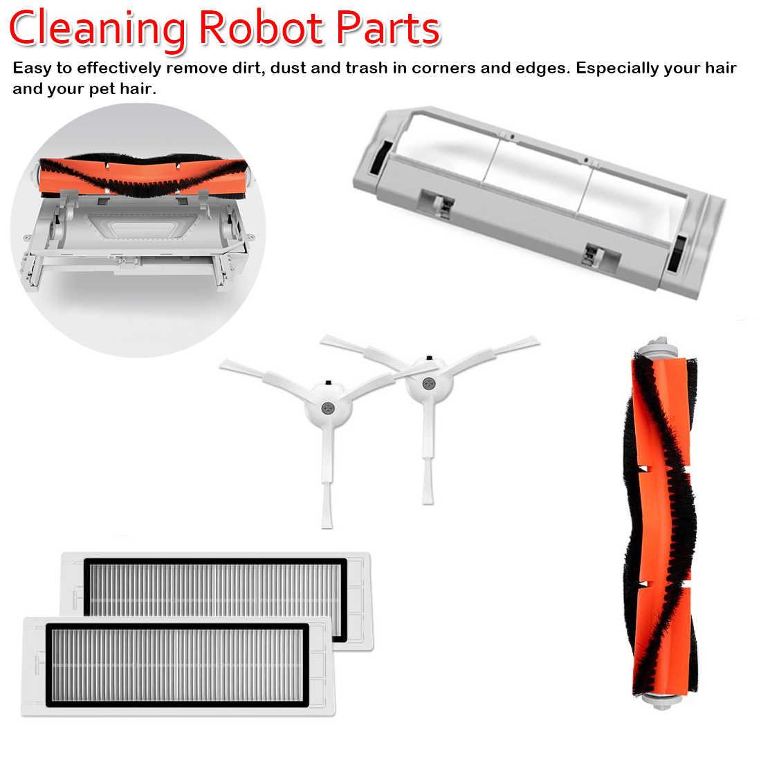 Оригинальная робот-пылесос, запасная часть, 1, 1 S, 2, roborock, S5, очиститель, наборы, упаковка, HEPA фильтр, боковая роликовая основная щетка