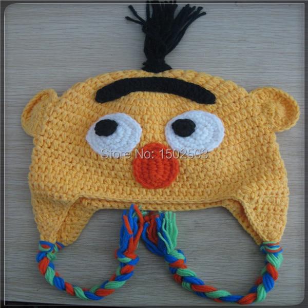 Custom Kids Animal Knit Hat Handmade Cute Crochet Animal Hat Pattern